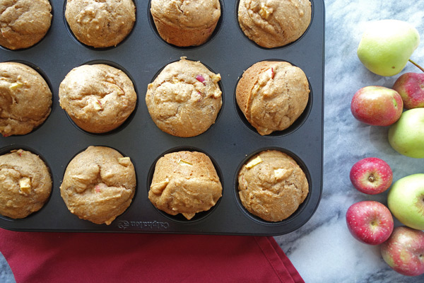 Baked-Apple-Muffins