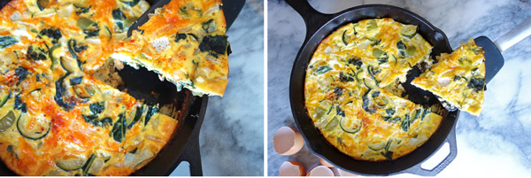 Frittata-Diptych