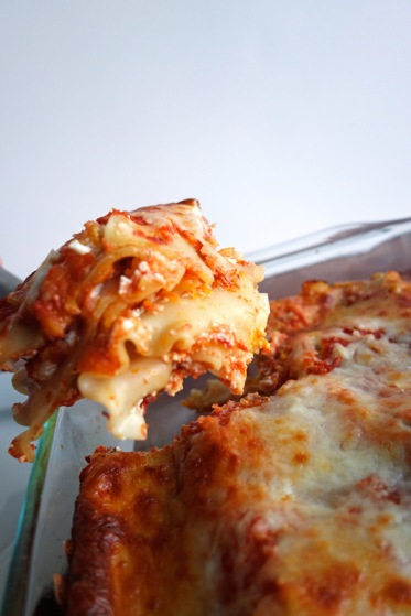 Piece of Butternut Squash Lasagna