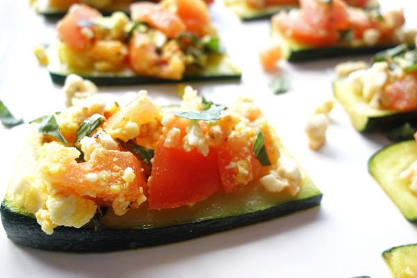 Zucchini-Bruschetta