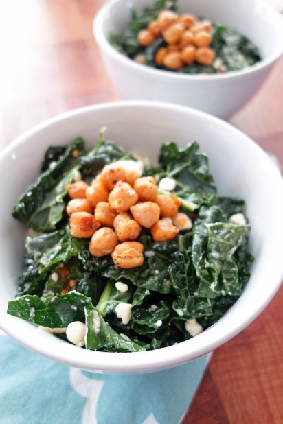 Chickpea-and-Kale-Salad